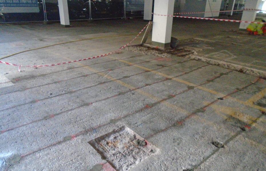 Wellgate Car Park Construction by Castle Group Scotland