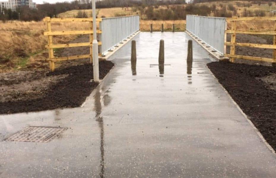 Greendykes Footbridge