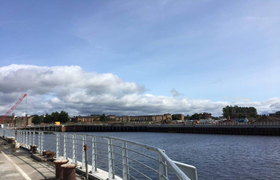 Queens Quay Glasgow